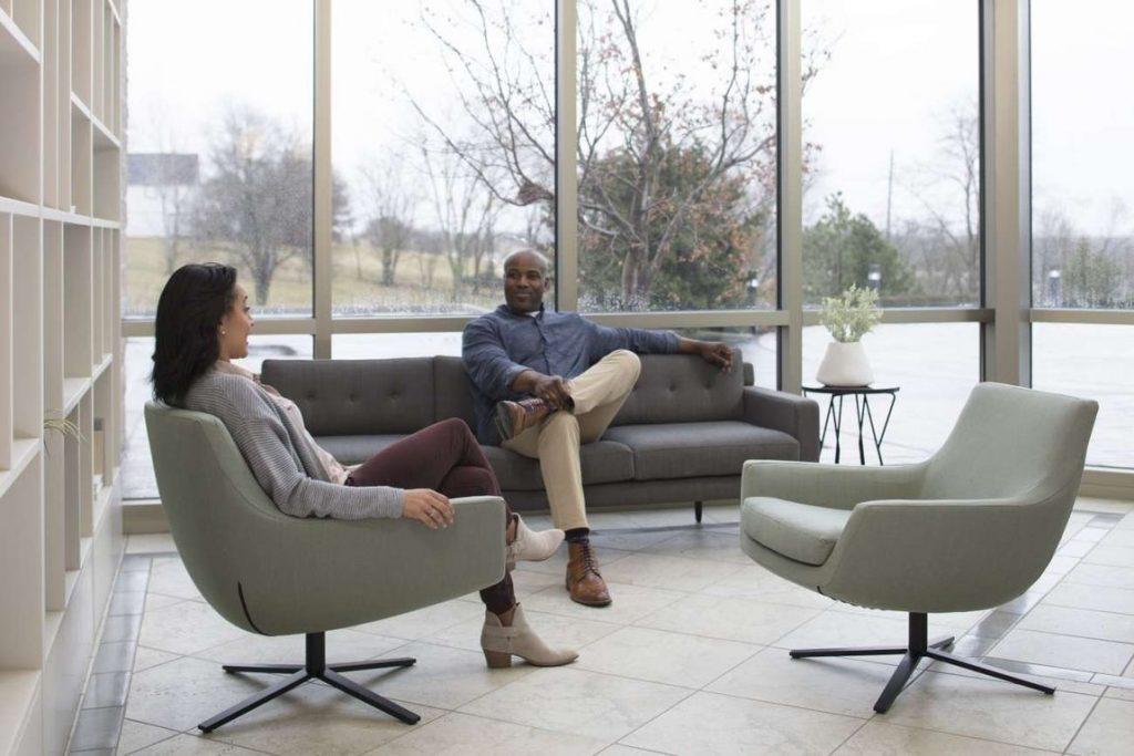 post-Covid workspace office furniture design ideas