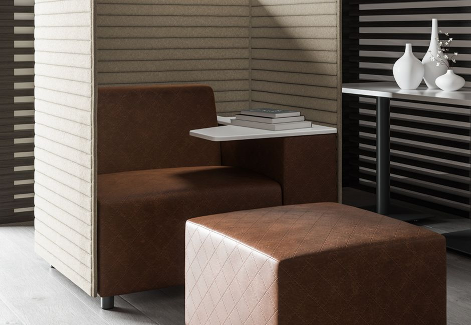 Post-Covid Workspace acoustic furniture