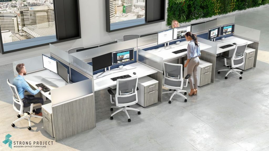 post-COVID worspace office furniture design ideas