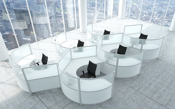 Merveilleux Modular Office Furniture, Modern Workstations, Cool Cubicles, Benching  Systems