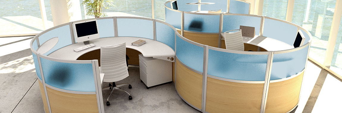 Merveilleux Open Plan Furniture, Open Office Benching Systems And Modern Business  Furniture